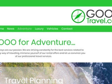 Homepage Travel