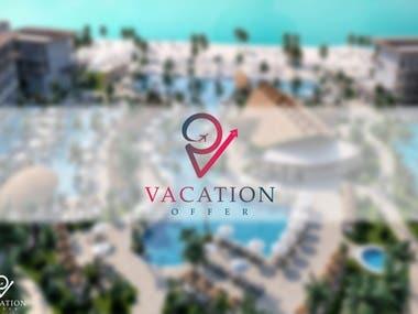 Vacation Offer logo design