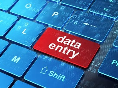 I will do data entry work for you