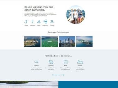Rental P2P(https://www.boatbound.co)