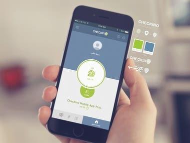 Checkino App Design & Logo Design