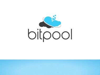 Bitpool Logo Design