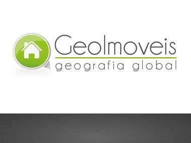 GeoImoveis Logo Design