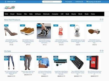 Website by Angular
