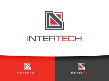 InterTech logo design