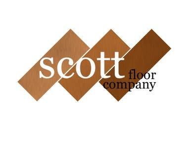 Scott Flooring Logo and Website