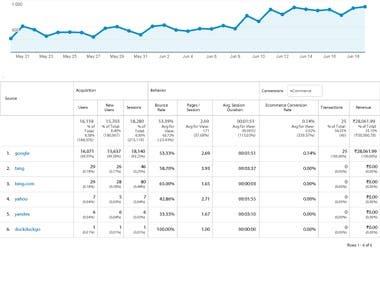 Digital Marketing (SEO Optimization)