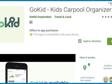 GoKid - Kids Carpool Organizer