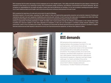 Website Design and Development of AC services