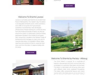 Travel Hotel Booking Website