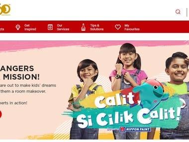 Nippon Paint Malaysia - SEO/SEM/landing page