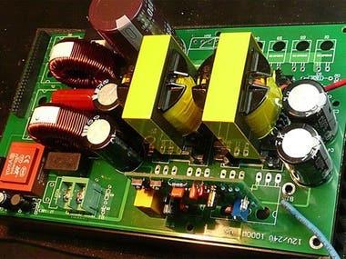 Power Inverter Circuit Design