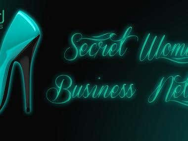 Logo for a Secret Woman's Business Netowork