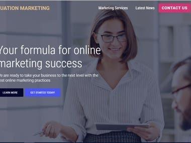 Market based website
