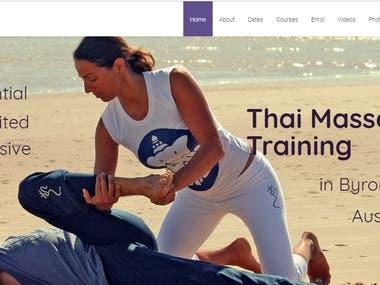 E commerce website.