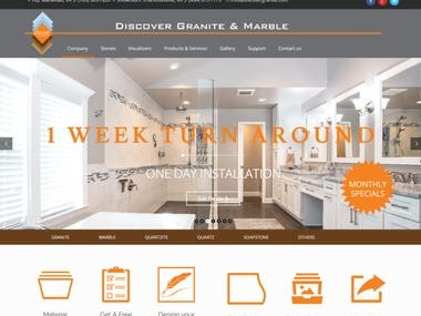 Website Design & Development Discover Granite