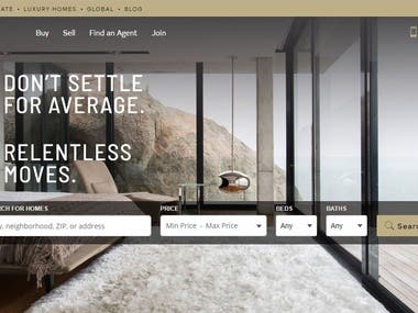 Century 21 Real estate website