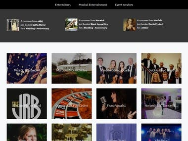 connections entertainment(booking site)