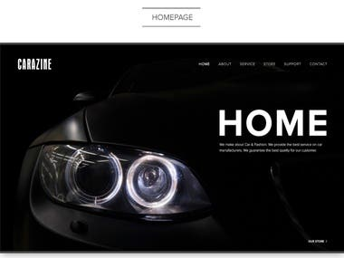 Car E-commerce Website