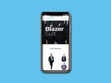 Custom Suit Mobile Application