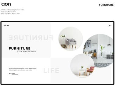 Online Furniture Selling Website