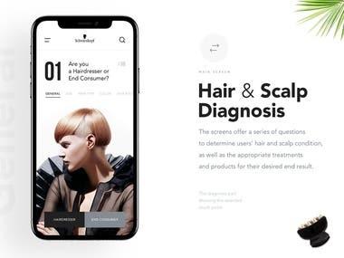 Hair Expert Mobile App