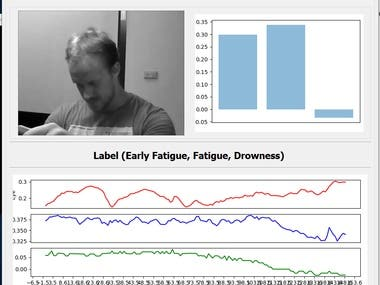 Drowsiness Analysis with Machine Learning and Mathematics