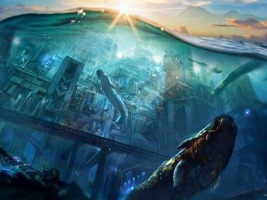 Illustration for project Atlantis