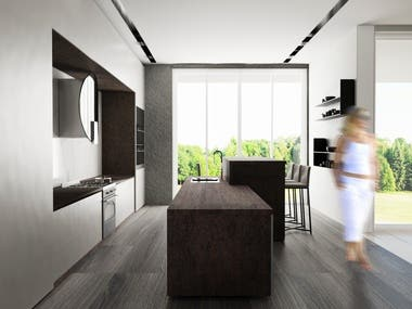 Kitchen Interior Architecture