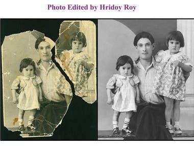 Photo Restoration..