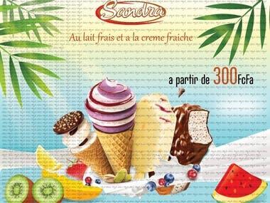 Ice cream advert