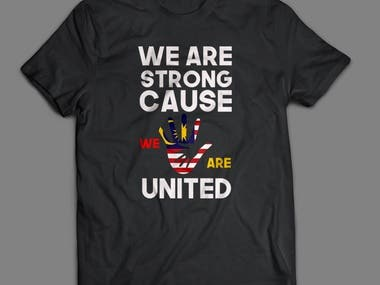 That was a t-shirt made for united nation