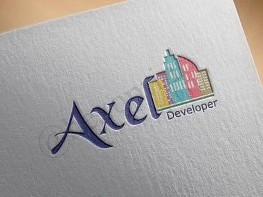 Logo: Axel Developer