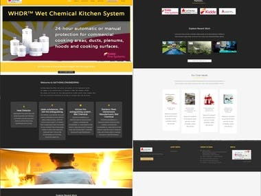 Fire Safety System based website