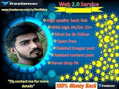 I Will Do High Quality Web 2.0 back link