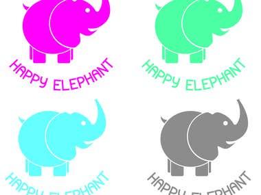 Logo Happy Elephant