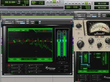 Audio Mastering and Post Production