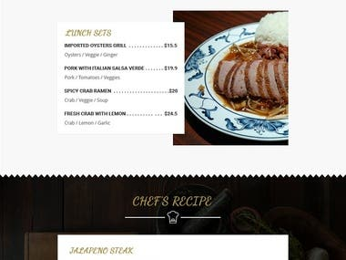 Email Template For A Restaurant