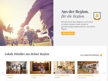 Regiona Woocommerce and Dokan based Marketplace