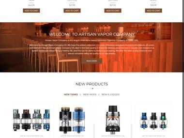 WooCommerce Based e-commerce website