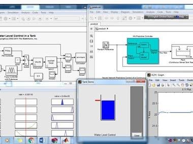 wireless set using Matlab and Mathematics