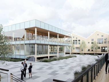 RESEARCH PARK OF TIMBER INDUSTRY / ARCHITECTURE / DESIGN