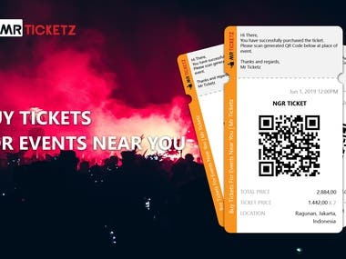 Design E Ticket for email