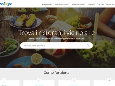 Food Ordering & Delivery In Italy