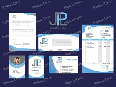 Need to Build Logo letterhead visting card