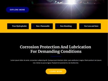 Corporate Business Website Development.