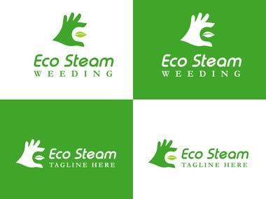 """""""E"""" Shaped logo for """"Eco Steam"""""""