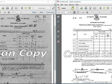 Convert Scan File to Editable File