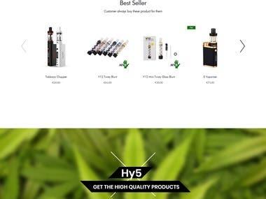 Hy5Shop | Online CBD Shop | Woocommer Development