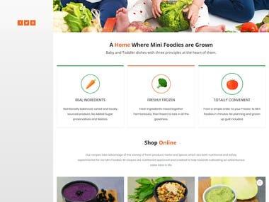 Mini Foodies | Baby Food Online Store | Woocommerce